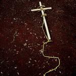 """cross on a leash"" by flamestatefilmless"