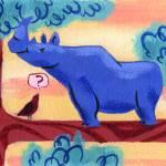"""rhino"" by msalmon"
