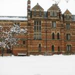 """Keble College Oxford in Snow"" by tgm86"