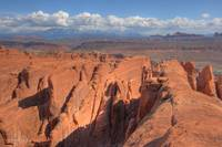 View on top of the FIery Furnace