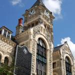 """""""1892 Courthouse at Victoria, Texas"""" by LindaWolff"""