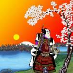 """""""Sakura.."""" by SidCampbell"""