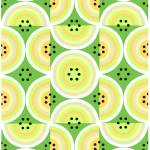 """Circles Olive Yellow large"" by LeslieTillmann"
