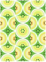 Circles Olive Yellow large