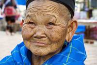 Old Hmong Woman