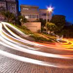 """Lombard Street, San Francisco at night"" by canbalci"