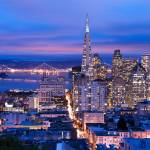 """""""San Francisco at dusk"""" by canbalci"""