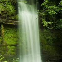 Glencar WaterFall2 Co.Leitrim Art Prints & Posters by Nazhain Zamran