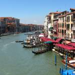 """venice view from rialto bridge"" by snance"