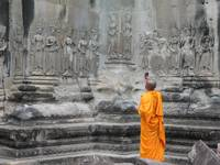 Monk Busted In AngkorWat
