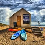 """Beach Hut Extreme"" by mackney"