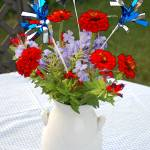"""Fourth of July Bouquet"" by LindaWolff"