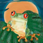 """Tree Frog"" by maryostudio"
