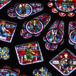 """Chartres cathedral glass"" by AndreaKirkby"