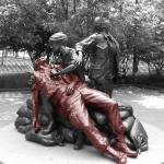 """Red Soldier vietnam nurses memorial"" by millsware"