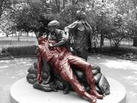 Red Soldier vietnam nurses memorial