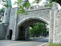Quebec city wall