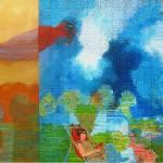 """roter Zeppelin"" by artsebastianart"