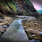 """""""Combe Martin Rocks"""" by mackney"""