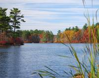 Autumn at Hopedale Pond