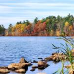 """Autumn at Hopedale Pond II"" by westhillphoto"