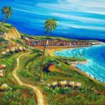 """San Clemente Seaside path"" by MitchellMcClenney"