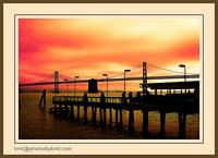 The Bay Bridge Sunset