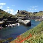 """Boscastle Harbour"" by NordenDesign"