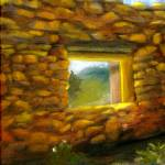 """Southwest Art; Old Mission Wall"" by Lenora"