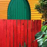 """red fence2"" by mattmawson"