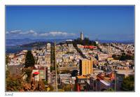 San Francisco - A view from Lombard Street