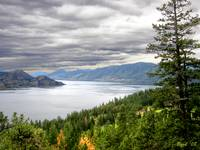 Elbow of Lake Okanagan