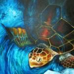 """""""Sea Turtle"""" by hannahsart"""