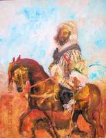 Arabian on a Horse