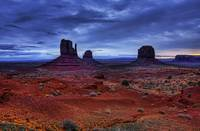The Mittens in Monument Valley.