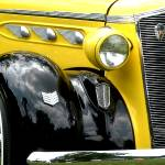 """1936 Yellow and Black DeSoto"" by kellerman"
