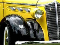 1936 Yellow and Black DeSoto