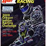 """2008 Oregon Indoor Karting Challenge Event Poster"" by Kart-Race-Art"