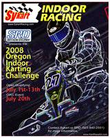 2008 Oregon Indoor Karting Challenge Event Poster