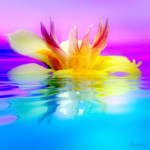 """""""Tropical Flower"""" by AnneVis"""