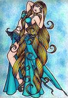 Aquarius Belly Dancer