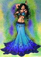 Pisces Belly Dancer