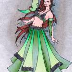 """Cancer Belly Dancer"" by lacychenault"