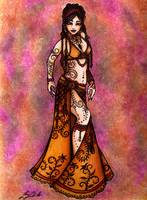 Capricorn Tribal Belly Dancer