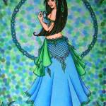 """Lacy Belly Dancer"" by lacychenault"