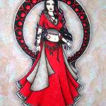 """Scorpio Belly Dancer"" by lacychenault"