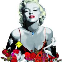 MARILYN_WHITE Art Prints & Posters by J Velasco