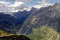 Alpine rainbow