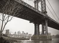 Manhattan + Brooklyn Bridges New York City