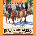 """Beacon Artworks Gallery Riccoboni Poster"" by BeaconArtWorksCorporation"